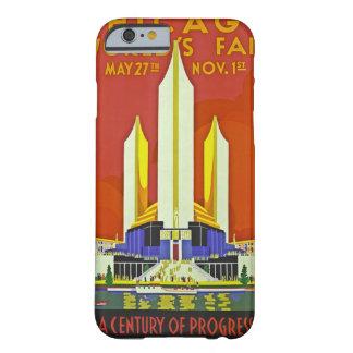 Arte 1933 del viaje del vintage de la feria de funda barely there iPhone 6