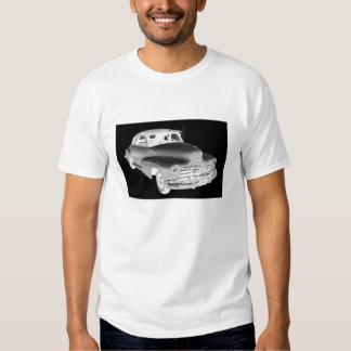 Arte 1948 del coche antiguo de Chevrolet Remera