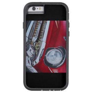 Arte 1957 del caso del iPhone 6 de Chevy por el Funda De iPhone 6 Tough Xtreme