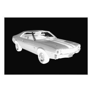 Arte 1969 del coche del músculo de AMC Javlin Fotografías