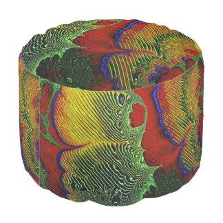 Arte 1-10 del fractal puf redondo