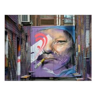 Arte 1 del callejón - fotografía del cazador de la postal