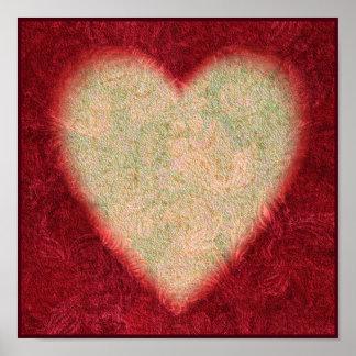Arte 1 del corazón impresiones