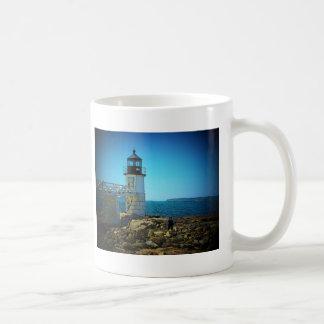 Arte 1 del faro tazas de café