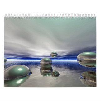 Arte 2008 de la edición de Calendar Limited del ar Calendario
