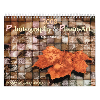 Arte 2008 y calendario 1,0 de la foto