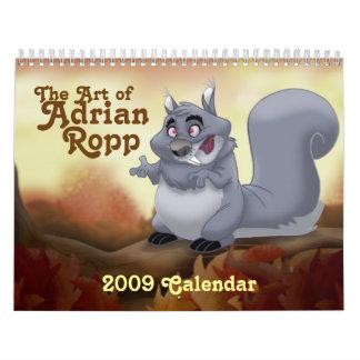 Arte 2009 del calendario de Adrian Ropp