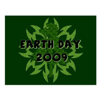 Arte 2009 del Día de la Tierra Postales