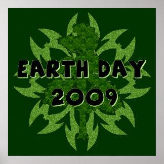 Arte 2009 del Día de la Tierra Póster