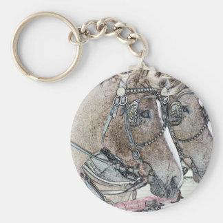 Arte 2010 2 del caballo llavero personalizado