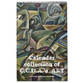 Arte 2012 del adkison de Charles Calendarios