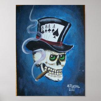 arte 2 011 del póker póster