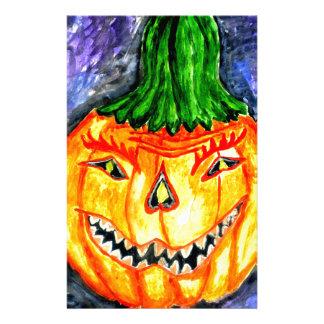 Arte 2 de la calabaza de Halloween Papelería De Diseño
