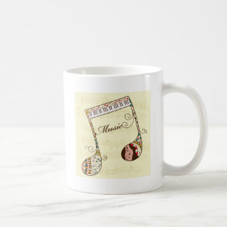 Arte 2 de la música taza de café