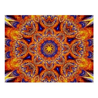 Arte 2 del fractal tarjetas postales