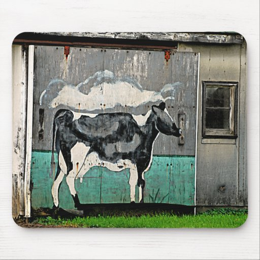Arte #2 Mousepad de la vaca Tapetes De Raton