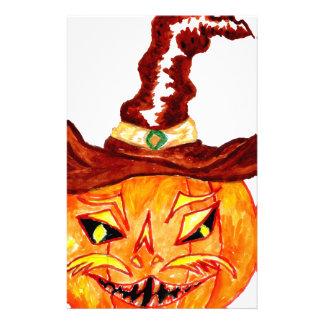 Arte 3 de la calabaza de Halloween Papeleria