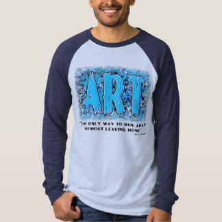"""ARTE"" #3 para la camisa ligera"