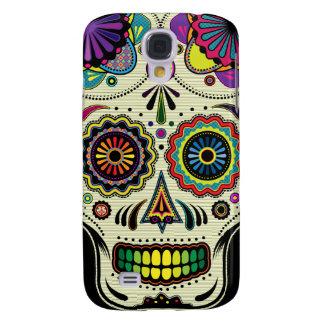 Arte 3G/3GS del cráneo del azúcar Funda Para Galaxy S4