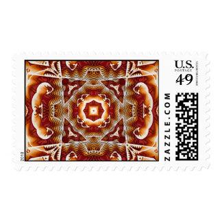 Arte 43 del fractal timbres postales