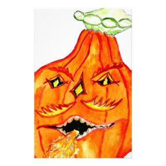 Arte 4 de la calabaza de Halloween Papeleria De Diseño