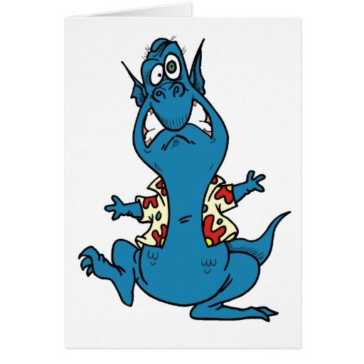 Arte 50 del dragón tarjeta de felicitación