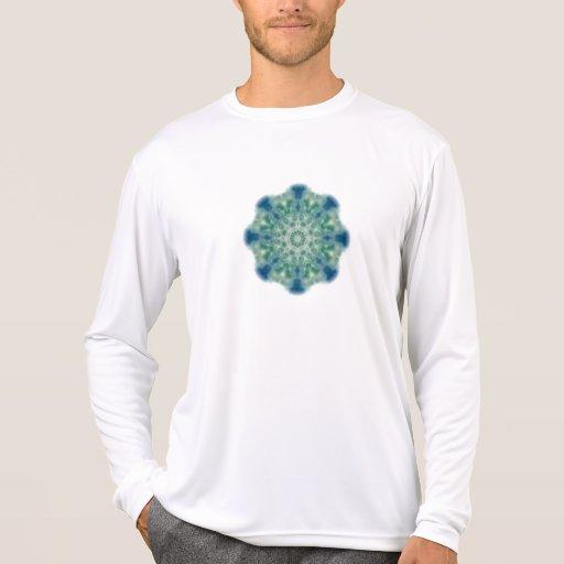 Arte 6 del caleidoscopio de las olas oceánicas camisetas