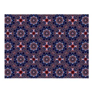Arte 746 del caleidoscopio del fractal postales