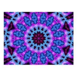 Arte 774 del caleidoscopio del fractal postal