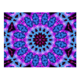 Arte 774 del caleidoscopio del fractal tarjeta postal