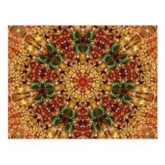 Arte 789 del caleidoscopio del fractal postales