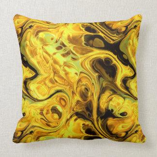 Arte 9 y 10 del fractal del fuego cojín