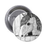 Arte a solas del caballo pin