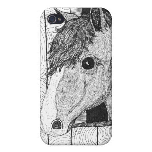 Arte a solas iPhone 4 carcasas