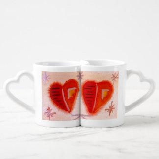 … arte abierto de los corazones… de Jutta Gabriel… Tazas Para Enamorados