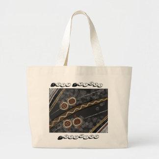 Arte aborigen australiano - tribus perdidas bolsas de mano