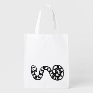 arte aborigen bolsas para la compra
