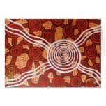 Arte aborigen de Corroboree II Tarjetas