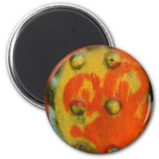 Arte abstracto 01 de la pintura de aerosol imán para frigorífico