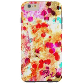 Arte abstracto 148 funda resistente iPhone 6 plus