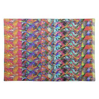 Arte abstracto 1 de Digitaces Manteles Individuales