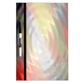 Arte abstracto 9 pizarra blanca