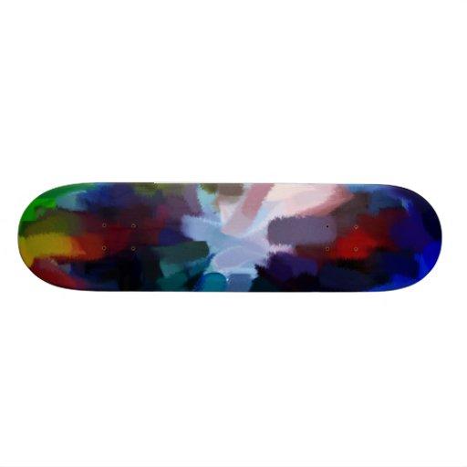 Arte abstracto abstracto 11 de la pintura el | patines