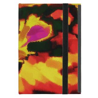 Arte abstracto abstracto 22 de la pintura el iPad mini cobertura