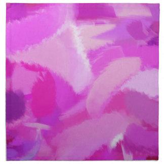 Arte abstracto abstracto 2 de la pintura el   servilleta