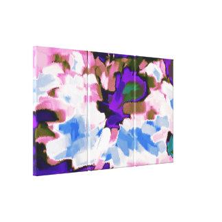 Arte abstracto abstracto 6 de la pintura el | impresión en lona estirada