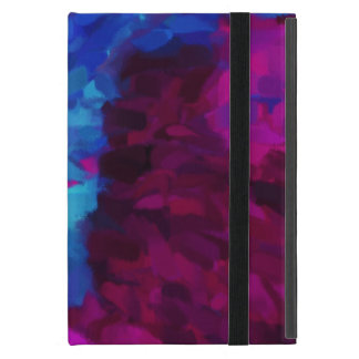 Arte abstracto abstracto de la pintura el iPad mini cobertura
