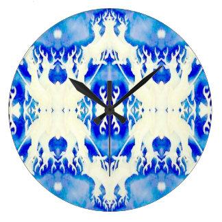 Arte abstracto Acryllic moderno del Taxidermy de l Reloj De Pared
