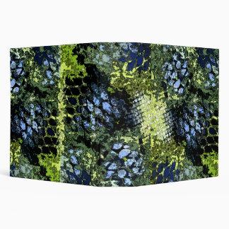 Arte abstracto - azules y verdes