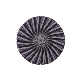 Arte abstracto blanco y del gris negro swirly de jarrones de caramelos